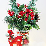 holidayfloralcenterpiece
