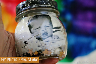 DIY Photo Snowglobe