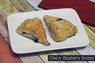 cherryblueberryscones
