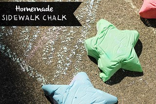 homemadesidewalkchalk