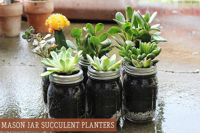 masonjarsucculentplanters