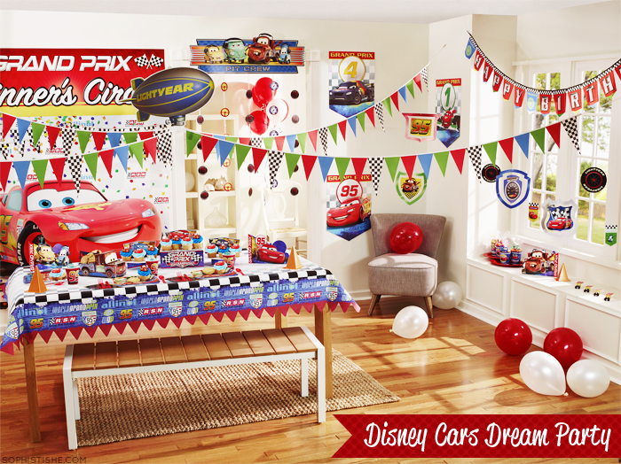 disneycarsdreamparty