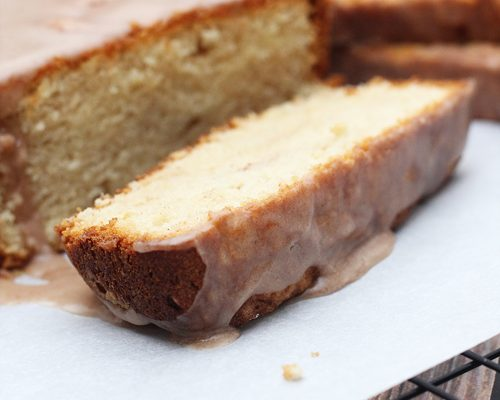 Cinnamon Apple Pound Cake