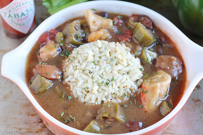 SophistiShe - Best Seafood Gumbo Ever – Featured, Food Recipes