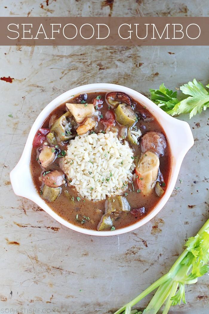 Savory Seafood Gumbo Recipe