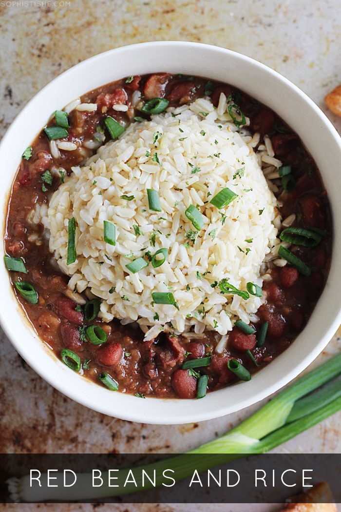 Sophistishe - Red Beans and Rice · Food Recipes