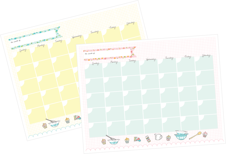meal-planning-calendars