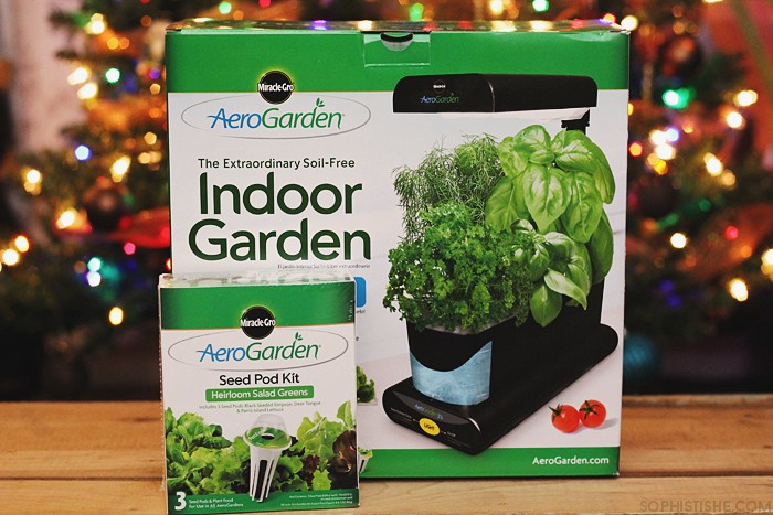 Aerogarden Indoor Garden Indoor winter gardening with miracle gro aerogarden 3sl gardening one of the things that saddens me about winter is not being able to garden i thrive off of being able to grow beautiful living things but when the cold workwithnaturefo
