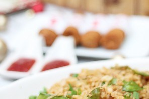 Restaurant Style Fried Rice For Holiday Entertaining