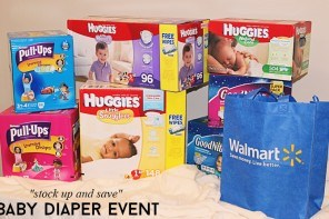 Stock Up And Save On Baby Diapers At Walmart