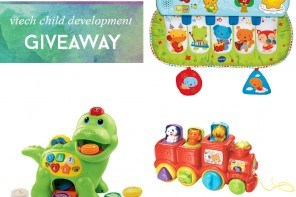 VTech Kids Expert Panel Milestones Pages + Toy Giveaway