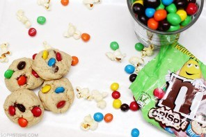 Fun with M&M'S: Chocolate Chip Cookies For Movie Night