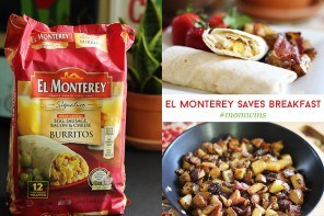 Breakfast Victories With El Monterey Burritos & Homemade Potato Hash Recipe