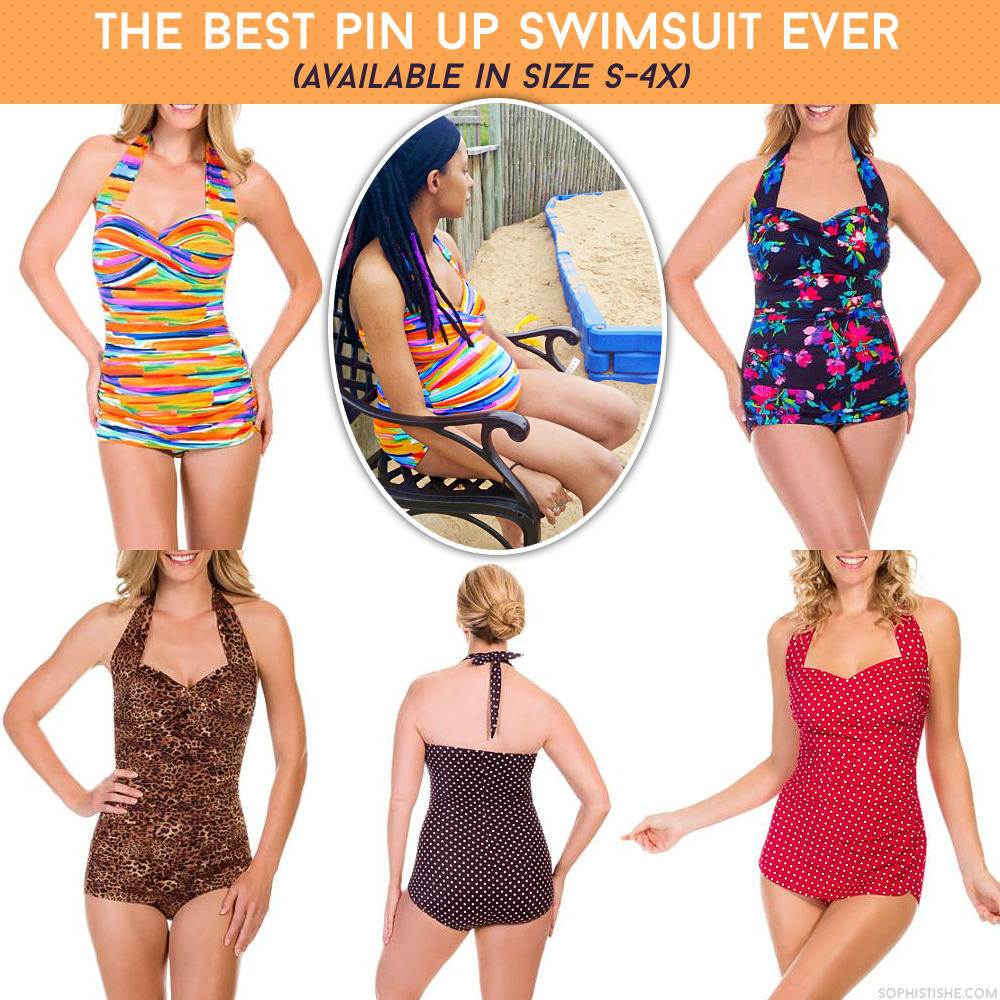 cheap pin up swimsuit