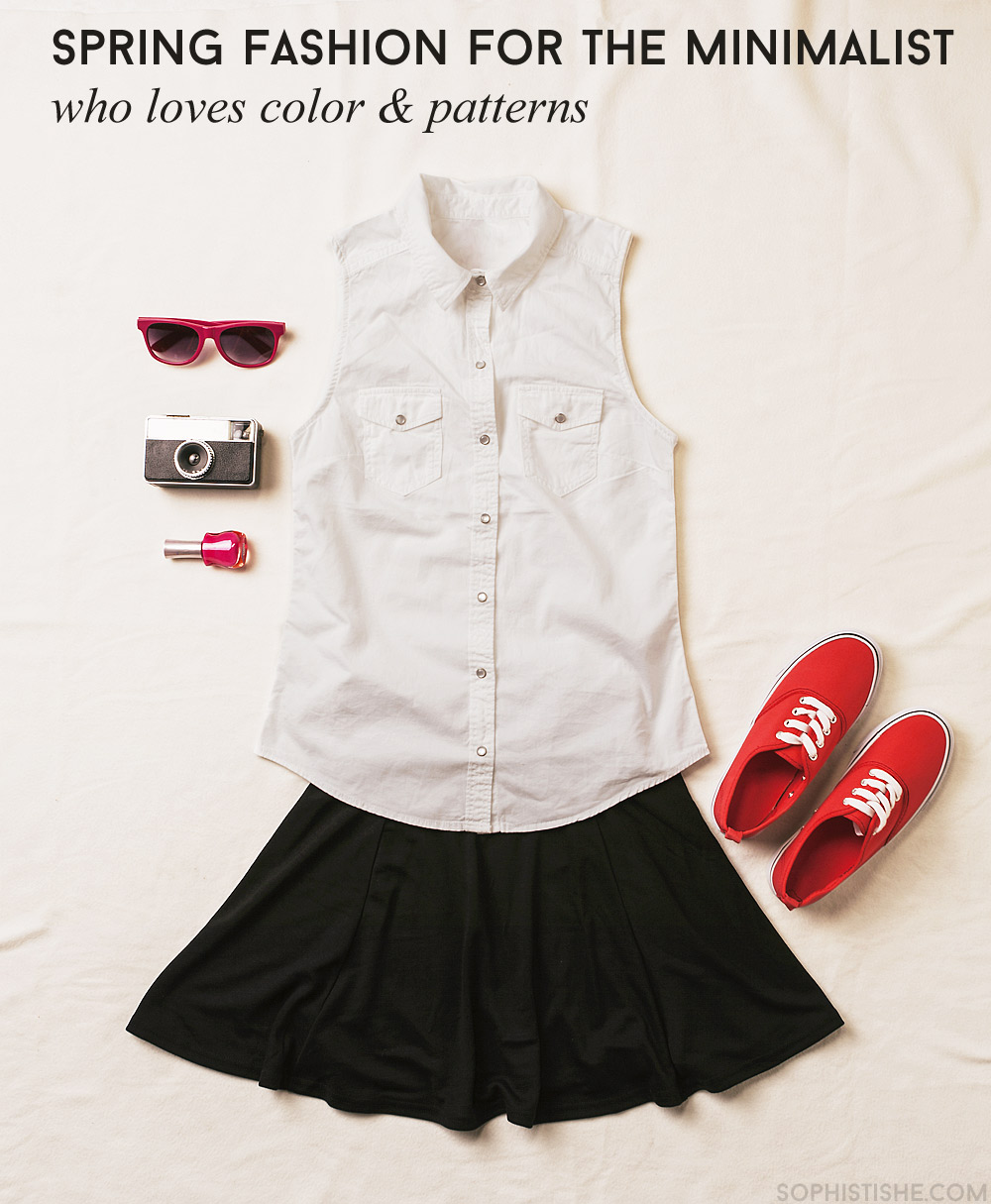 minimalist fashion colors