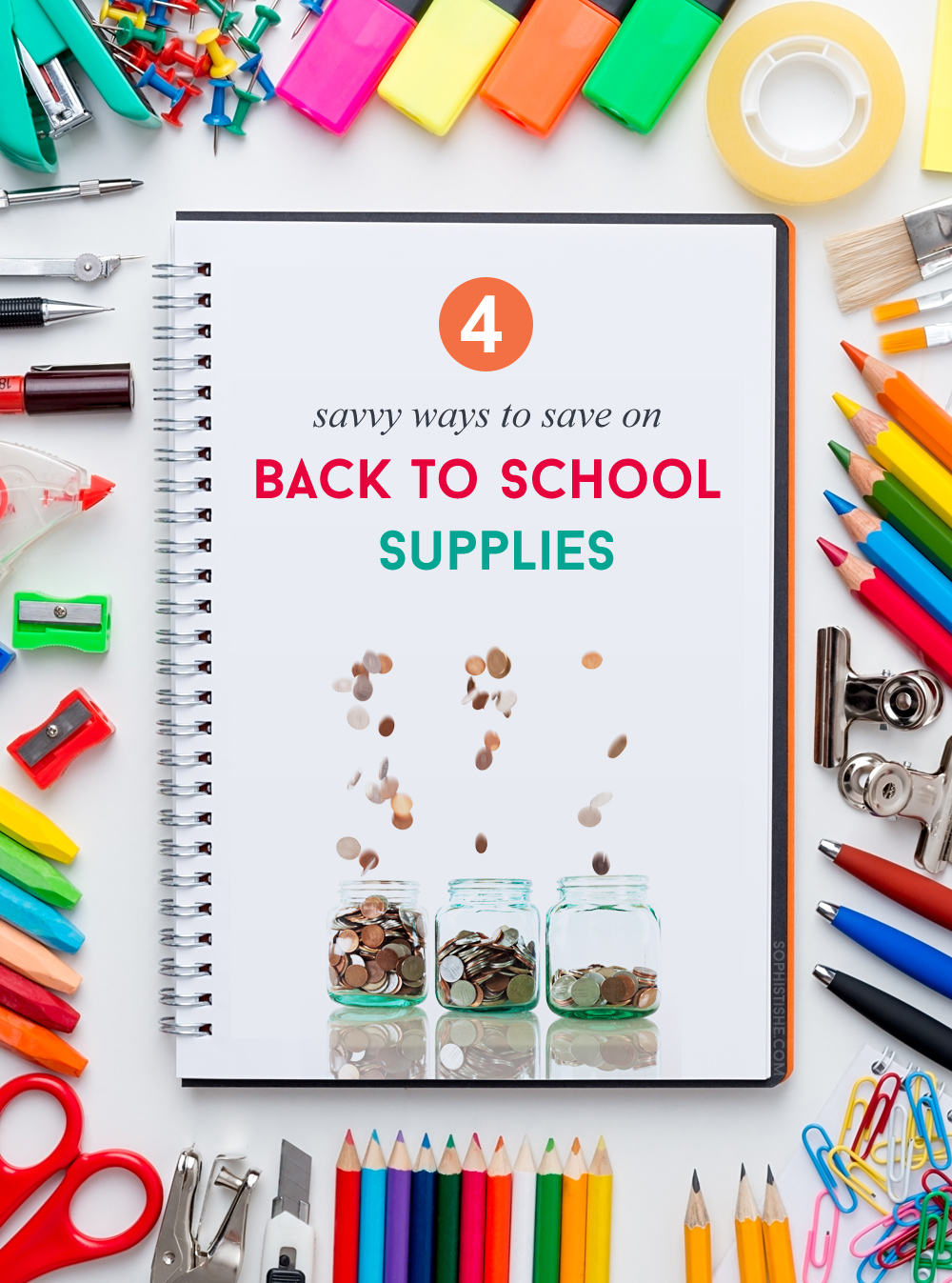 Savvy Ways To Save On Back To School Supplies