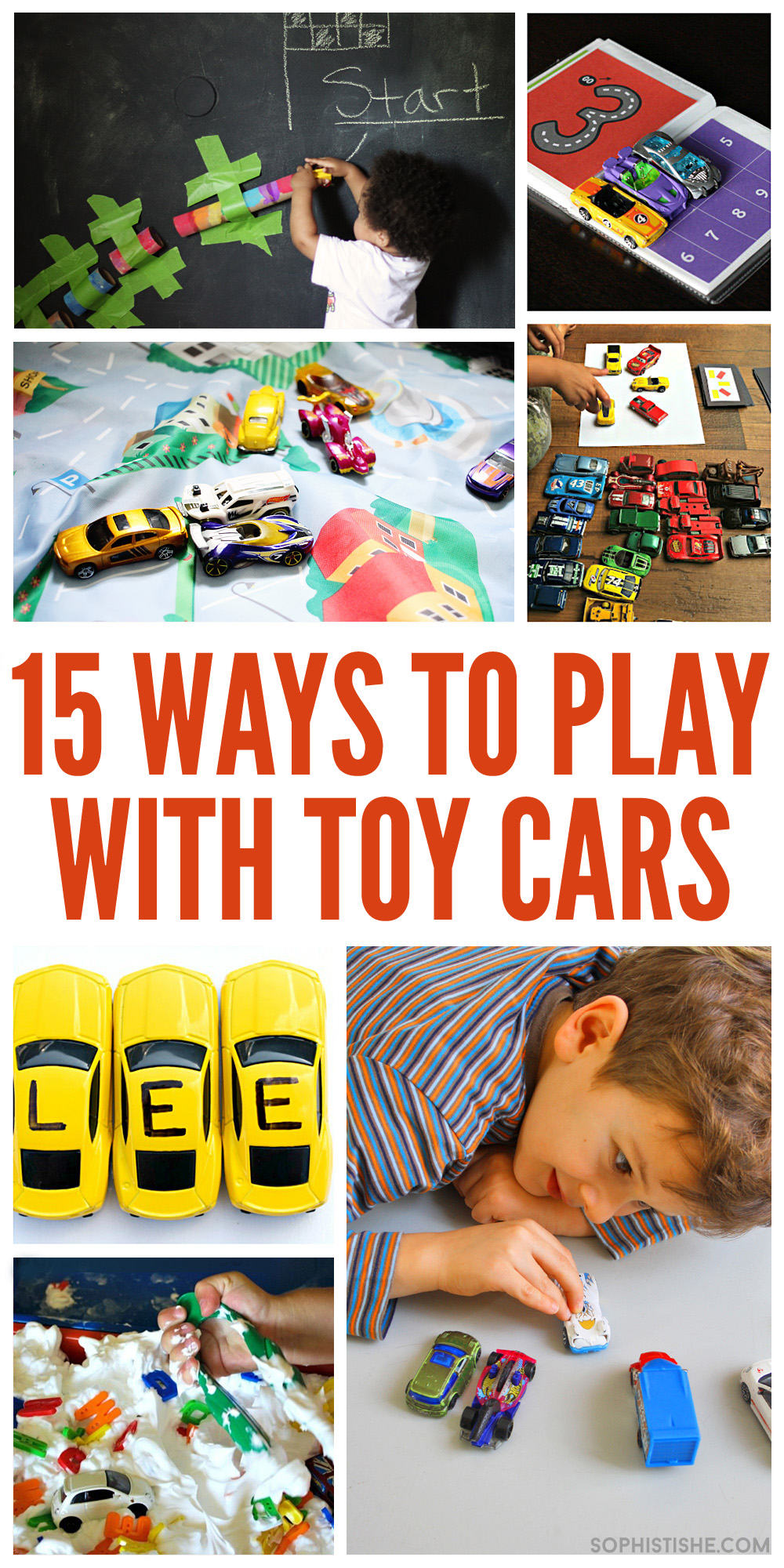 15 Ways To Play With Toy Cars