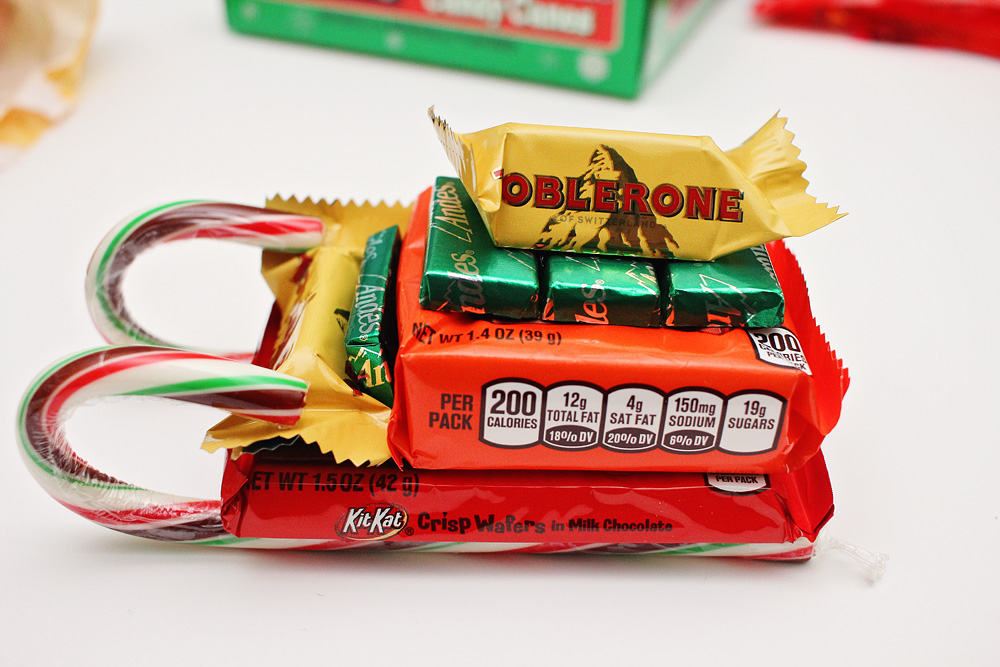 Christmas Candy Sleighs · Arts & Crafts, Christmas