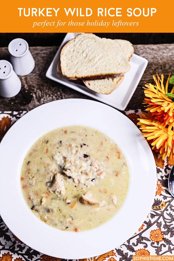 Whether you're trying to figure out what to do with the last of the holiday bird or you plan on taking advantage of post-holiday turkey markdowns, this hearty Turkey Wild Rice Soup recipe will provide the creature comforts you're absolutely craving.