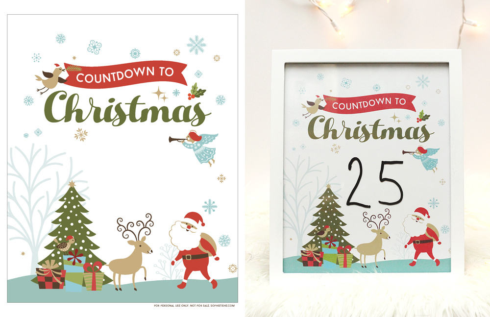 Free Printable Holiday Pack #Sophistishe