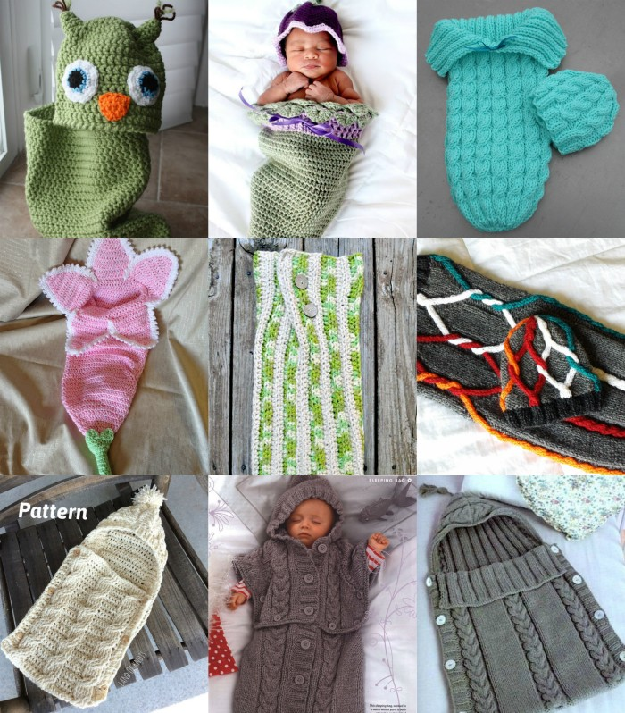 15 Gorgeous Baby Cocoon Patterns Arts Crafts