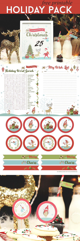 Free Christmas Printable Pack