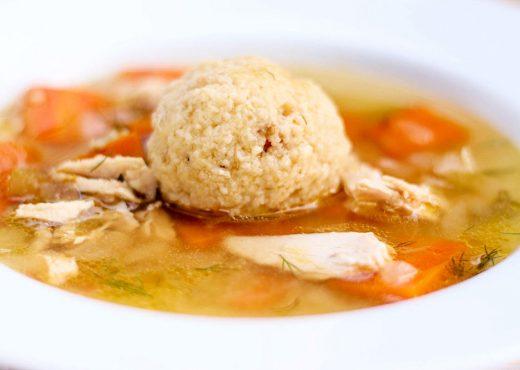 Matzo Ball Soup-8