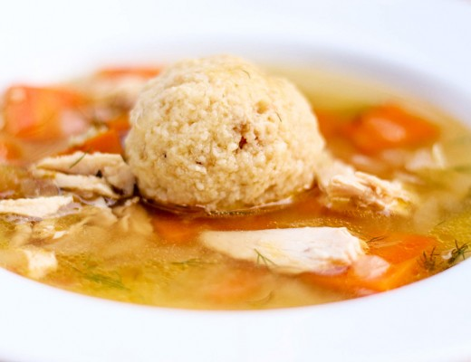 Matzo Ball Soup-8