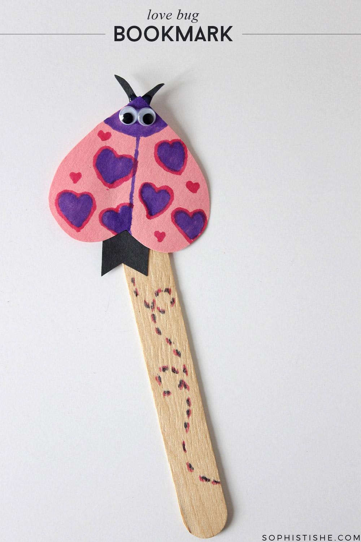 lovebug-valentines-day-kids-craft-bookmark