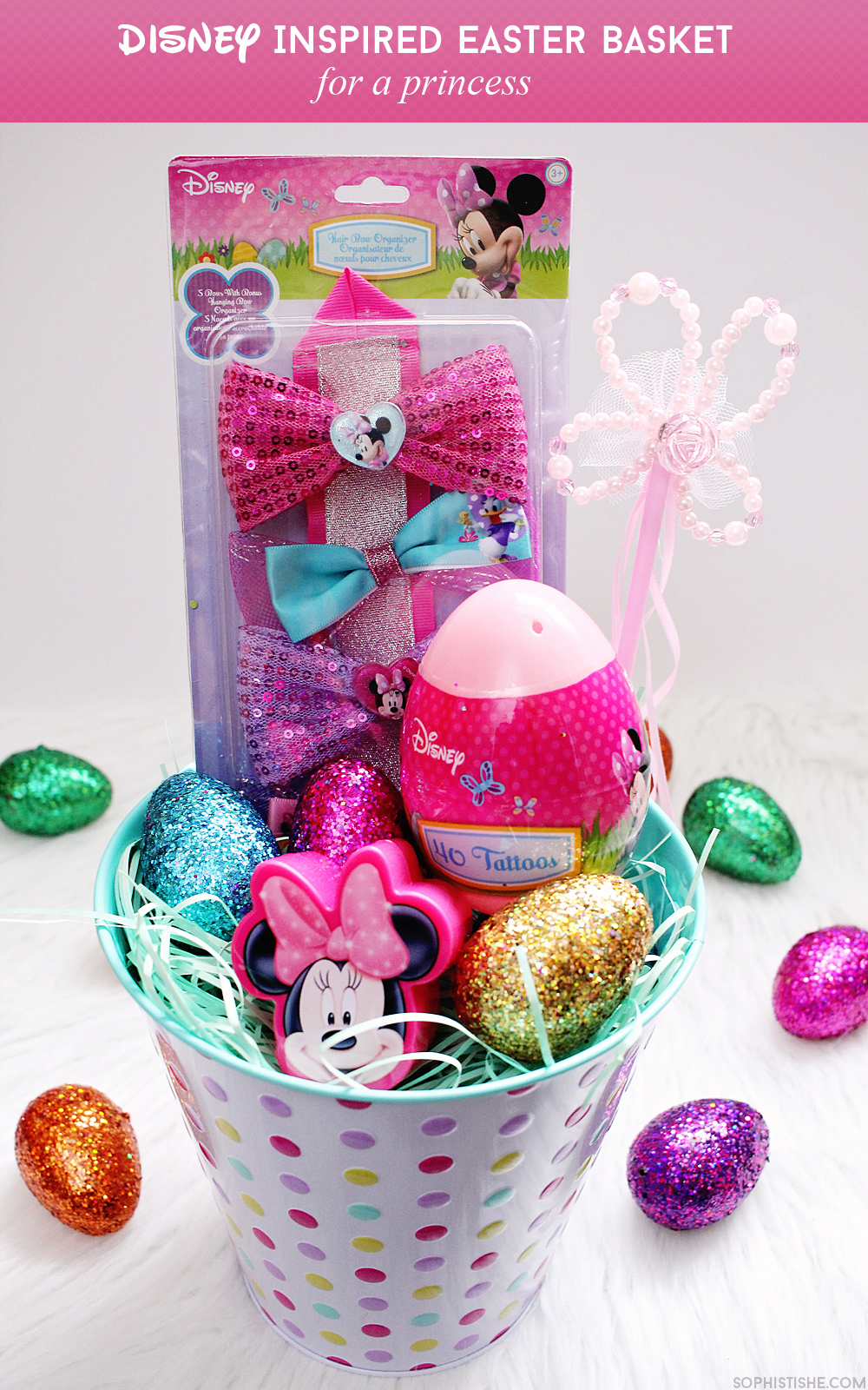Smart souvenirs disney inspired easter basket disney lifestyle disney easter basket cheap souvenir ideas negle