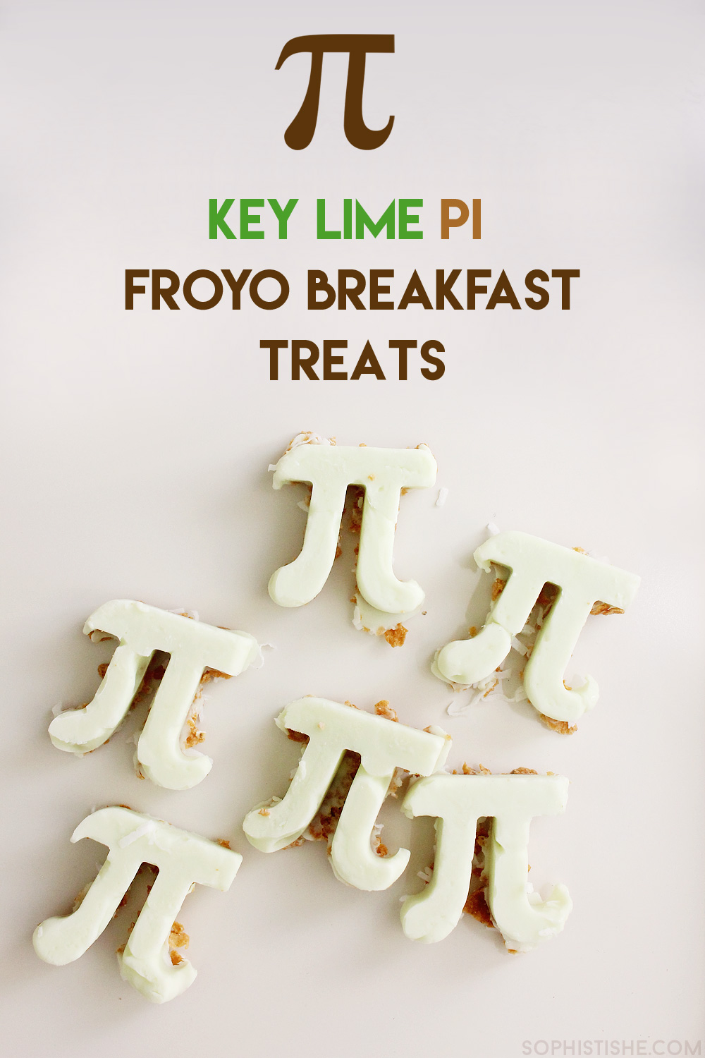 Key Lime Pi Froyo Breakfast Treats - Happy Pi Day!