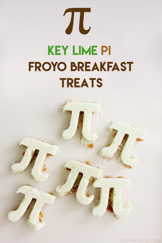 Key Lime Pi Froyo Breakfast Treats - Happy Pi Day!