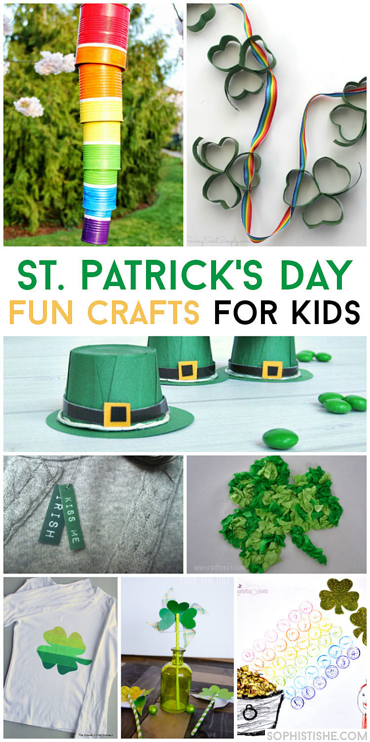 Fun St. Patrick's Day Crafts for Kids · Arts & Crafts