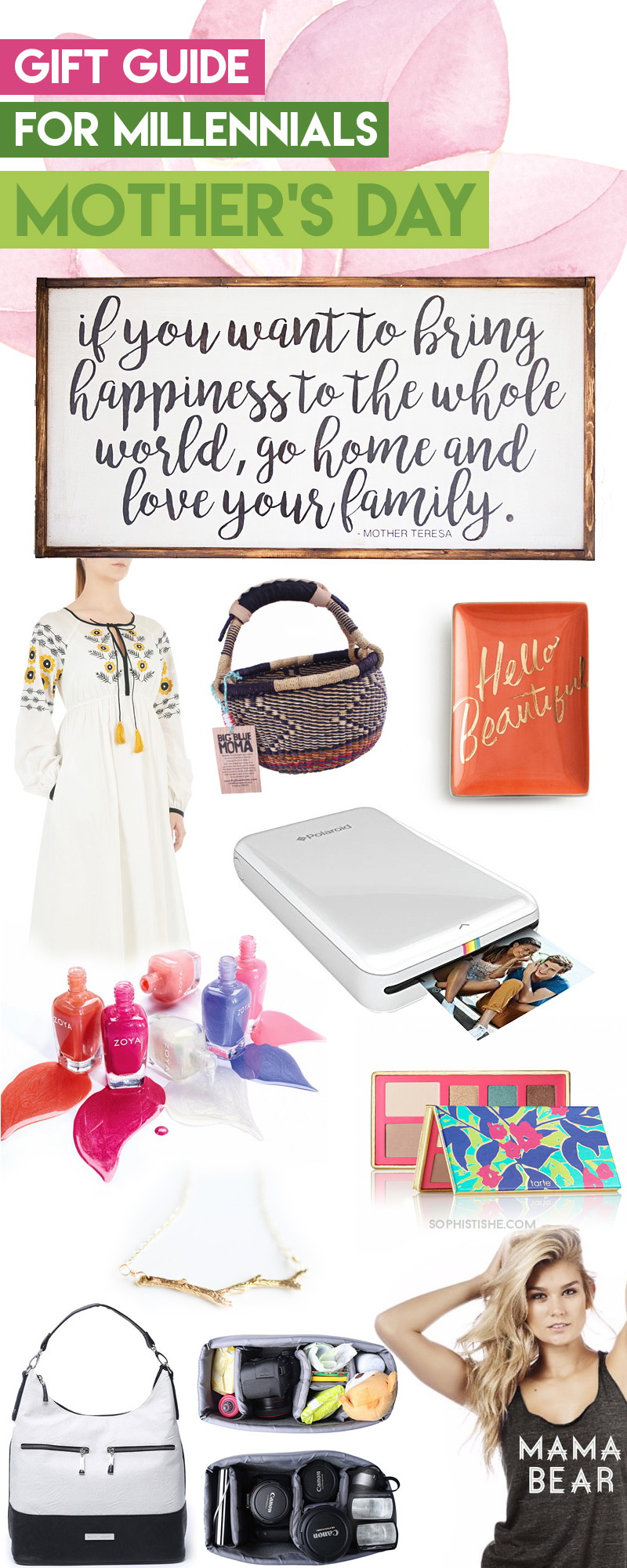 Mother's Day Gift Guide for Millennial Moms