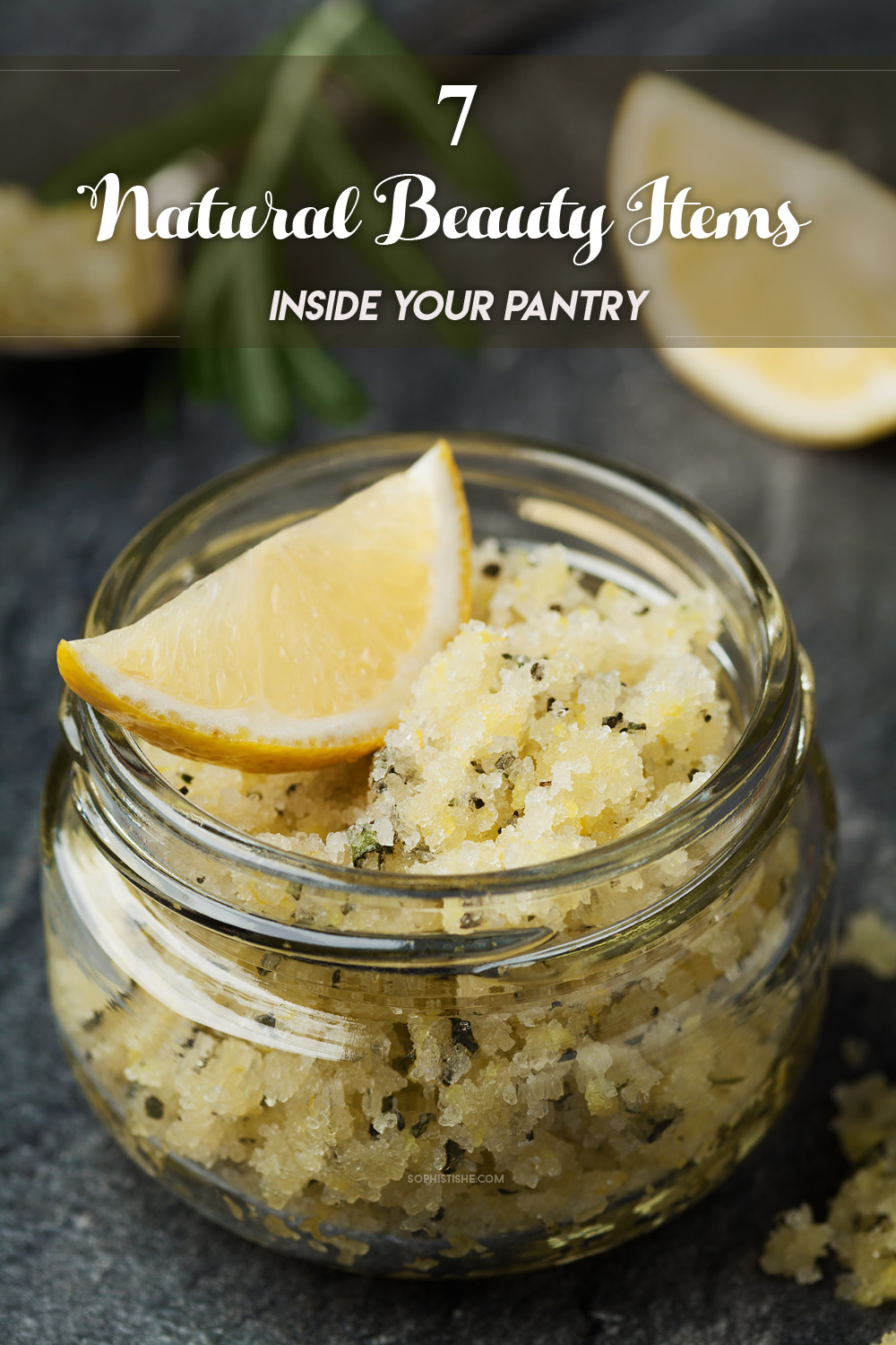 7 Natural Beauty Items Inside Your Pantry
