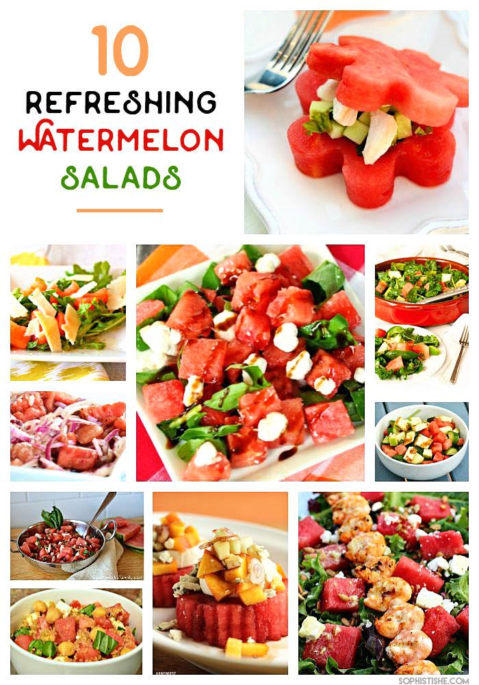 10 Refreshing Watermelon Salad Ideas