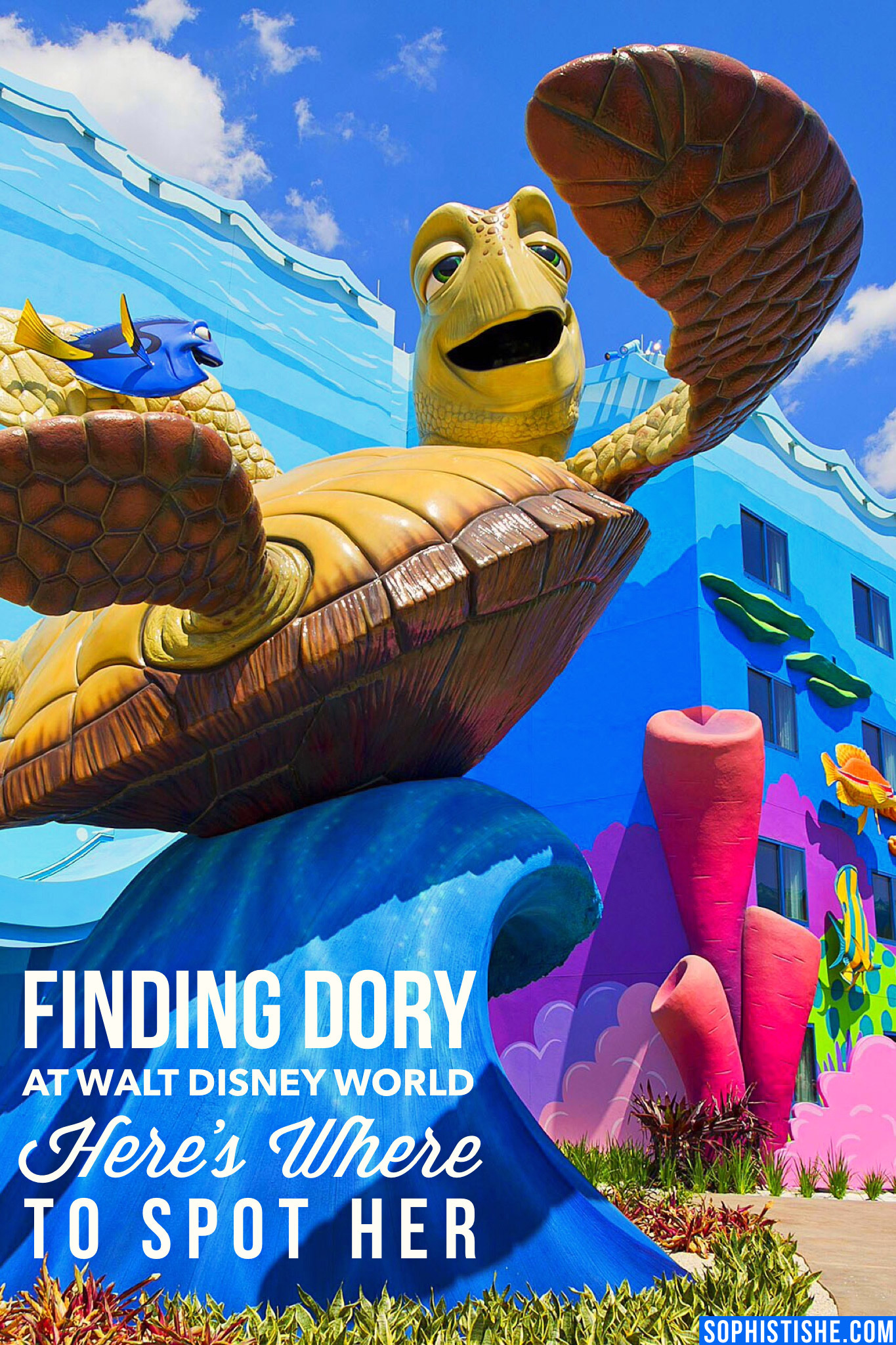 Finding Dory at Walt Disney World