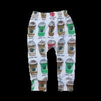 Coffee Baby Toddler Harem Pants