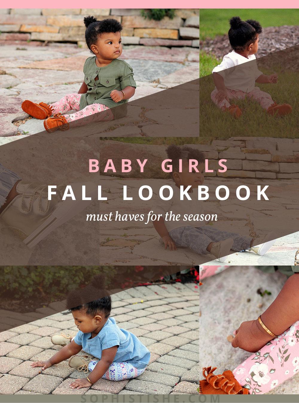 Baby Girls Fall Lookbook via @Sophistishe