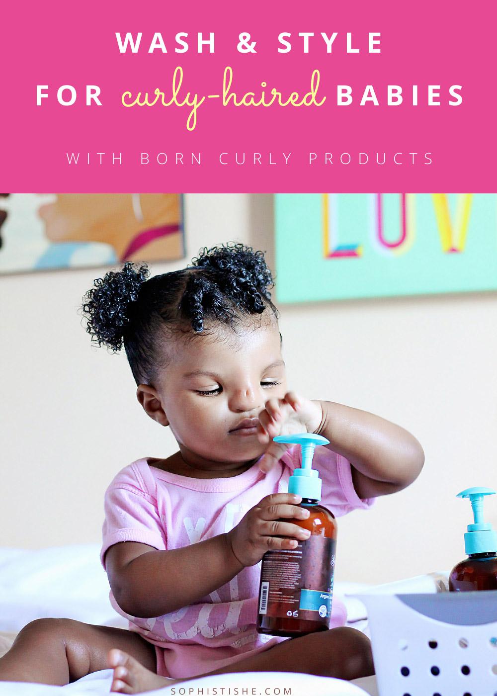 Baby Natural Hair Wash Day With Born Curly 183 Natural Hair
