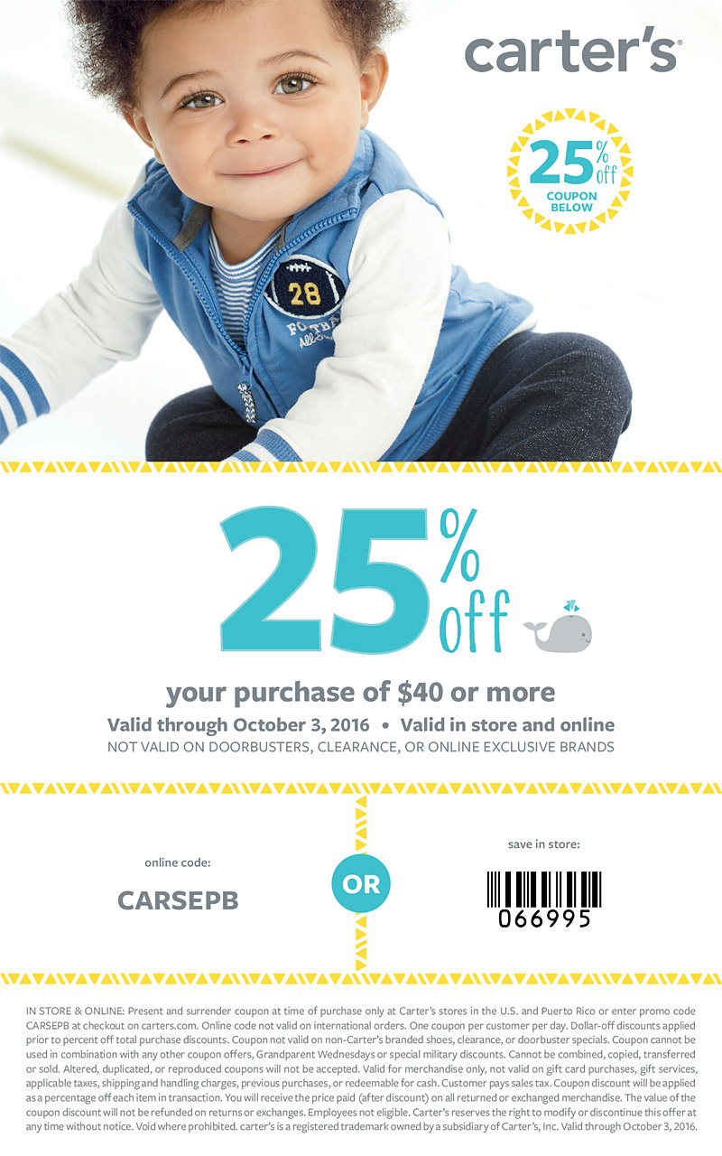 cartersbaby25percentoff