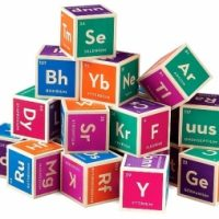 Elemental Wood Baby Blocks