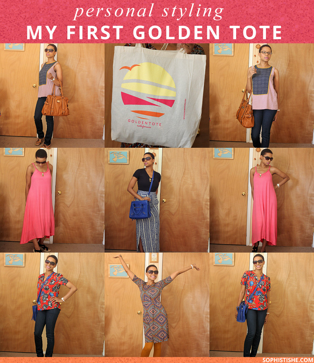 Golden Tote Review | Style Subscription Box @Sophistishe