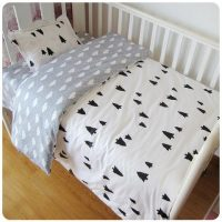 Trees & Clouds Baby Crib Bedding