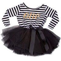 1st Birthday Glitter Tutu Baby Dress