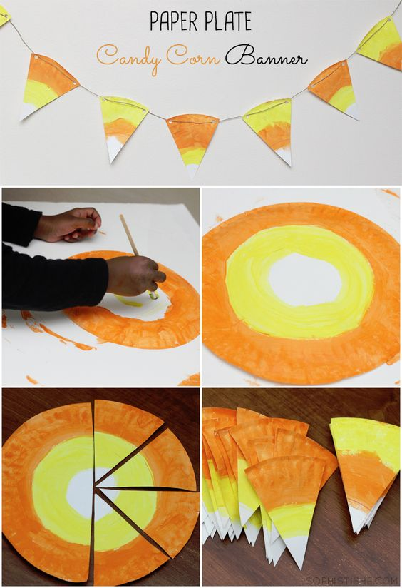 paper-plate-candy-corn-banner-halloween