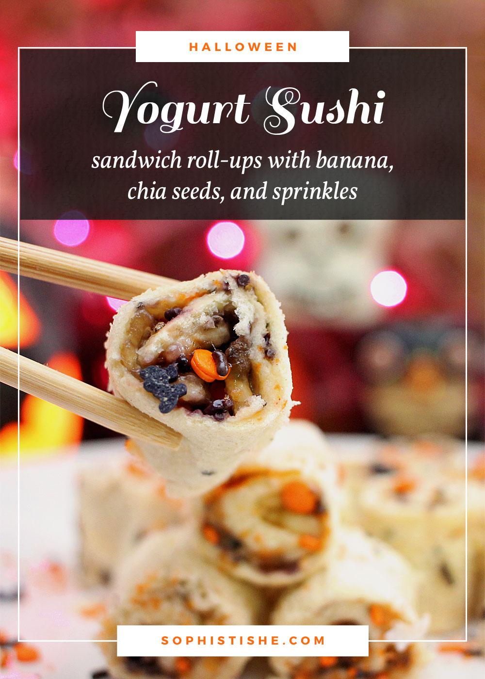 Yogurt Sushi Sandwich Roll-ups