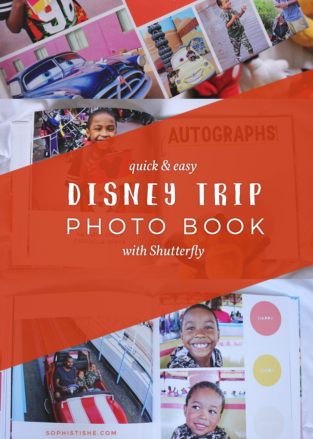Quick & easy Disney trip photo book with Shutterfly!