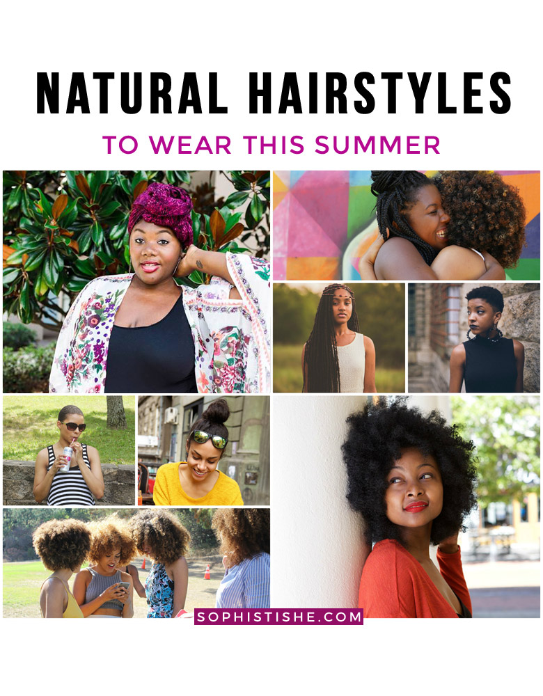 5 Natural Hairstyles To Wear This Summer
