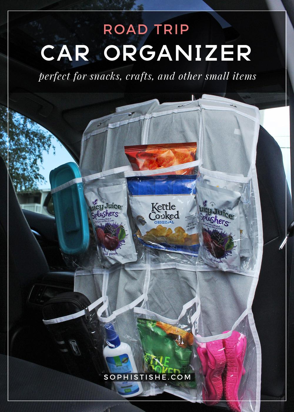 Road Snacks | Car Organizer